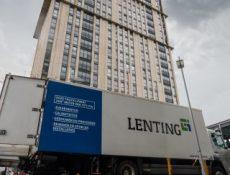 Vrachtwagen Woontoren – Lenting Groep B.V.