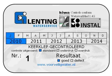Lenting Sticker