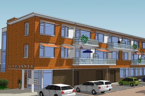 Het Terras – 11 Appartementen En Buurthuis