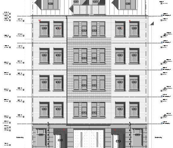 Appartementen Hondecoeterstraat