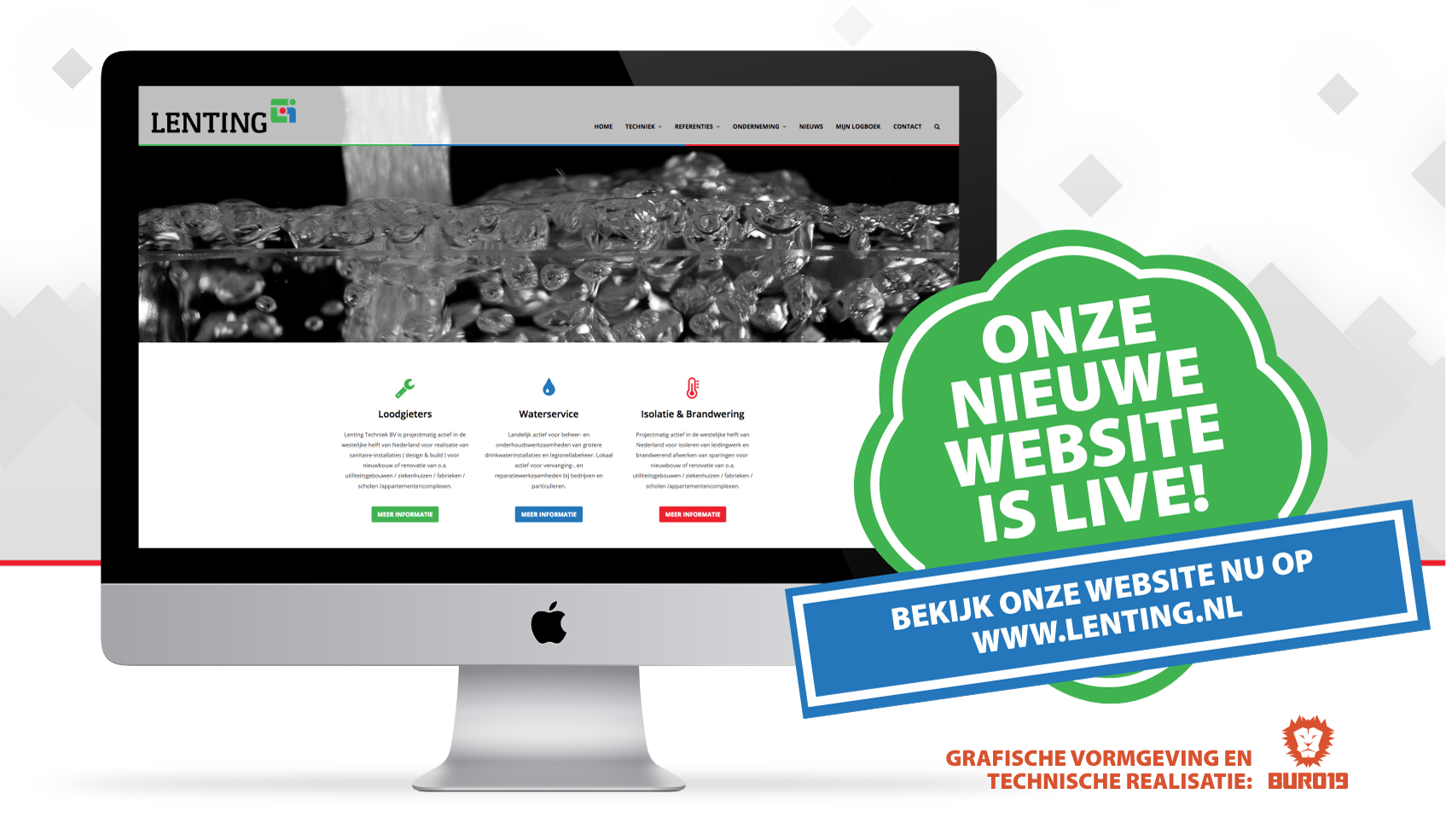 Opgeleverde Website Lenting