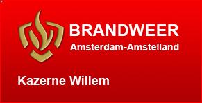 Brandweer Amsterdam-Amstelland ,kazerne Willem